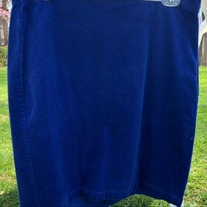 Old Navy NWT cobalt blue stretch pencil skirt